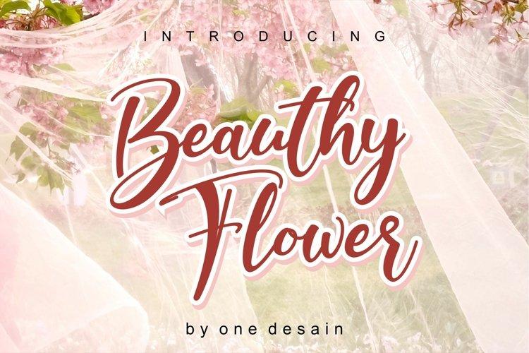 Beauthy Flower