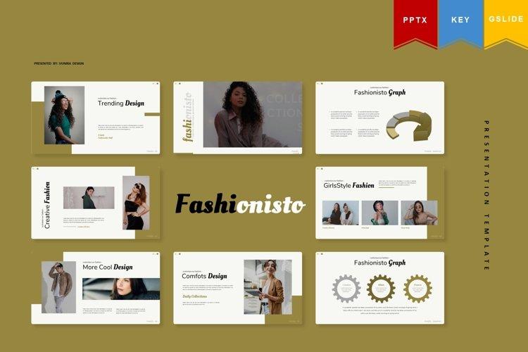 Fashionisto | Powerpoint, Keynote, GoogleSlides Template example image 1