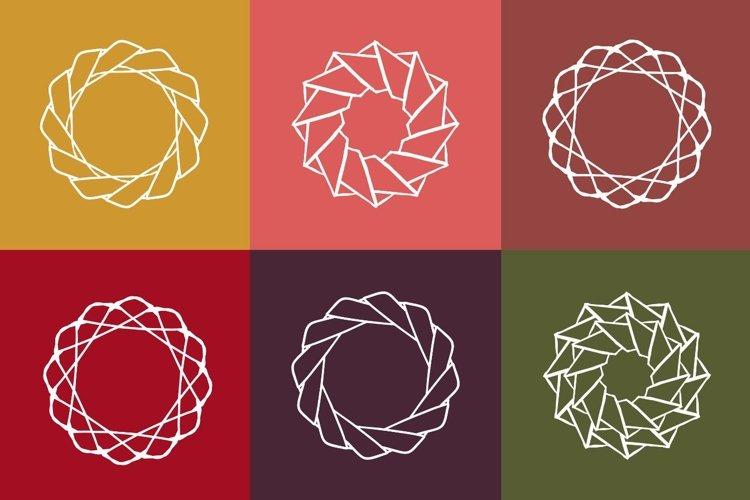 Vector circle shapes example image 1
