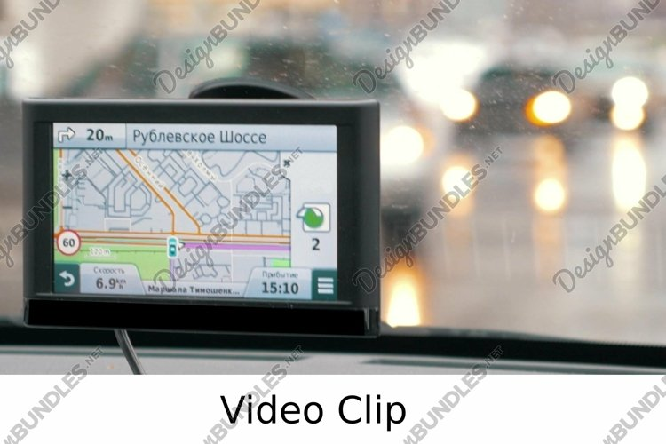 Video: Turning accordng to GPS route