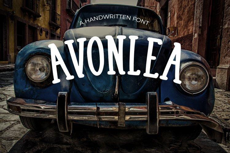 Avonlea Vintage Font example image 1