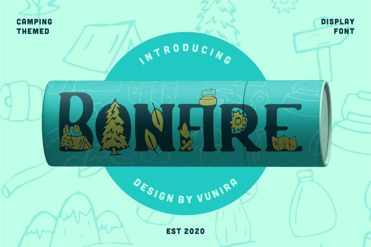 Bonfire | Display Font example image 1