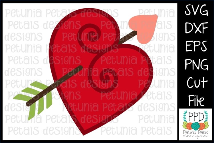 Valentine Heart SVG 11234