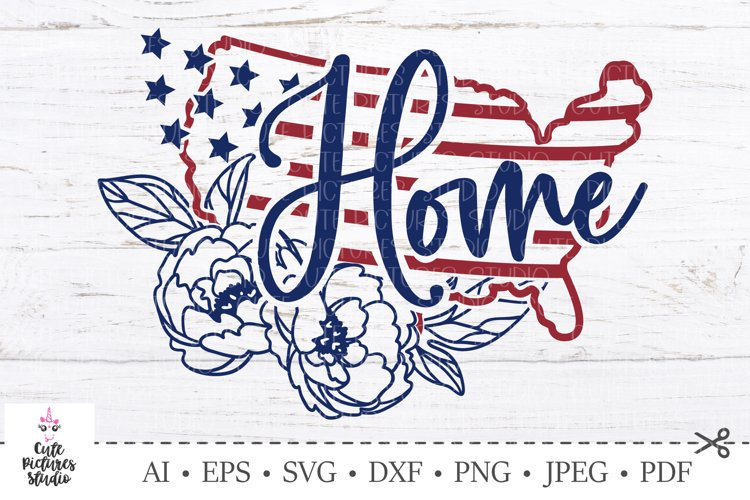 American flag svg. USA Independence Day. America maps svg.