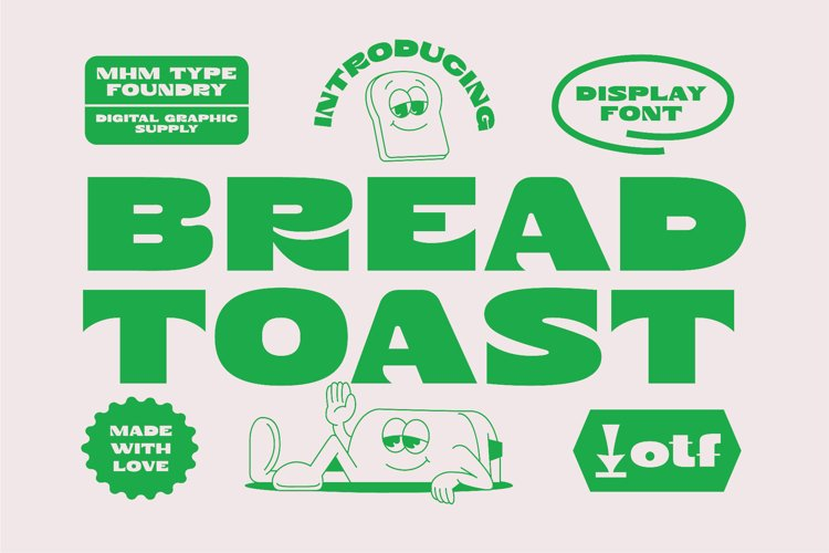 MHM BREAD TOAST