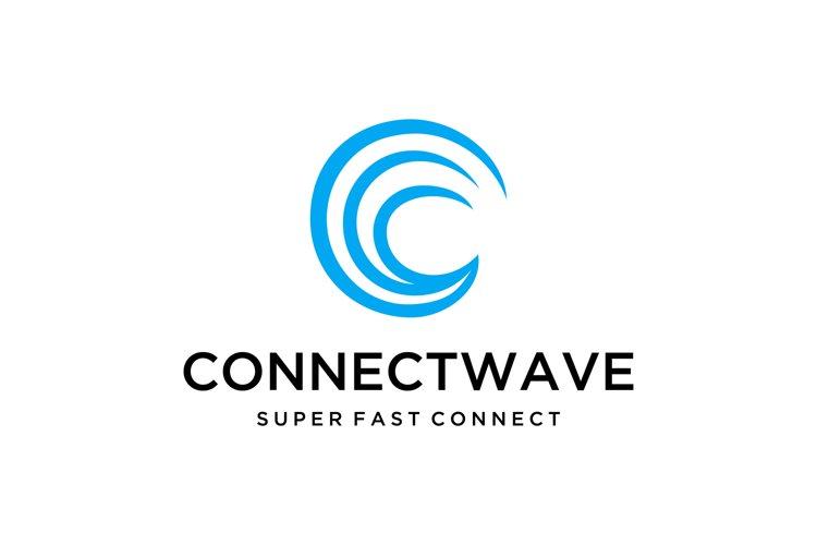 sea water wave Logo example image 1