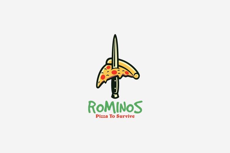 Rominos Logo Template