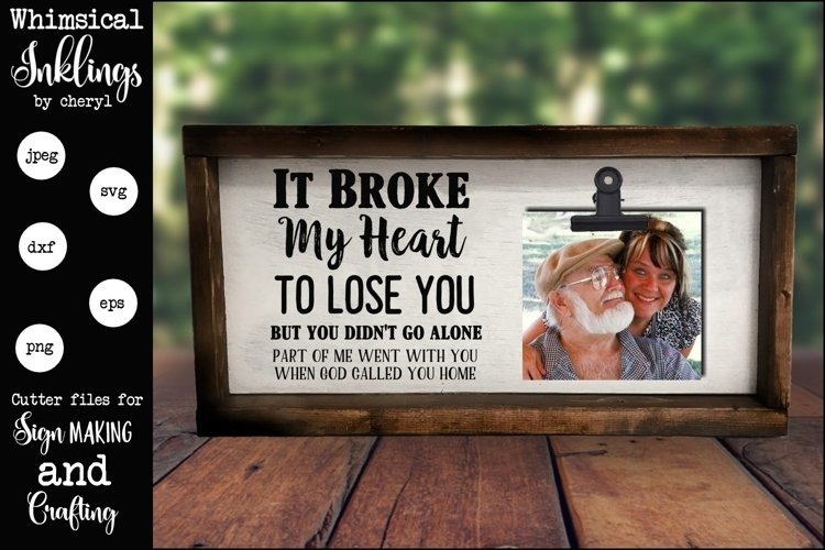 It Broke My heart SVG example image 1