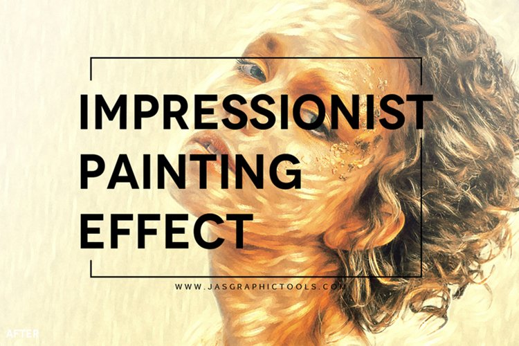 Impressionist Painting Effect Actions