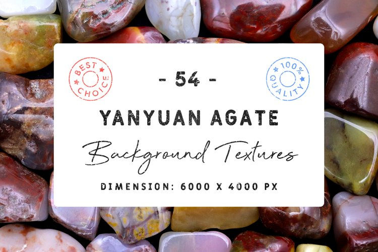54 Yanyuan Agate Background Textures