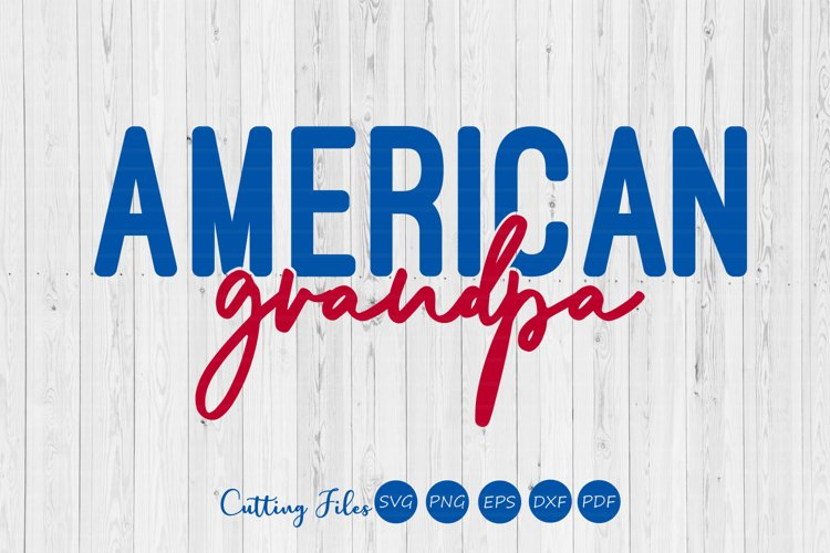 American grandpa | 4th of July | SVG Cut files | example image 1