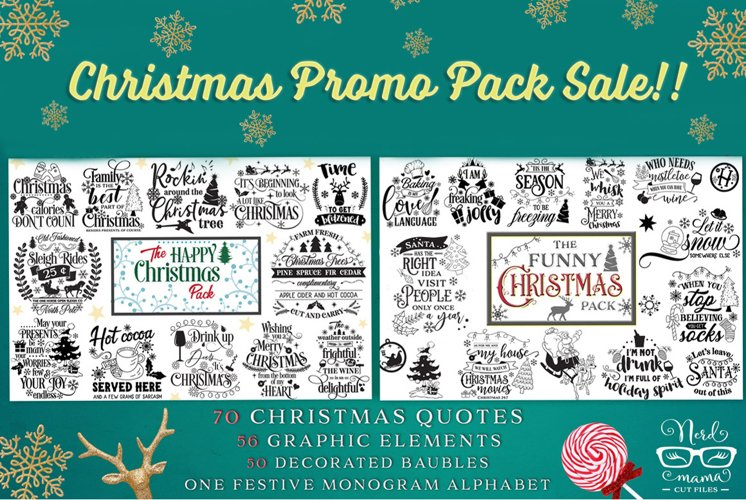 Christmas cut Files Limited Promotion