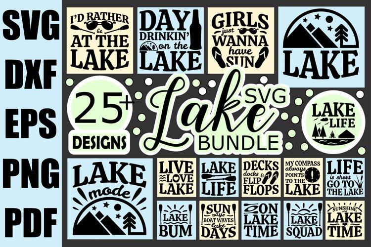 Lake Life SVG Bundle, Funny Quotes Lake SVG files for Cricut
