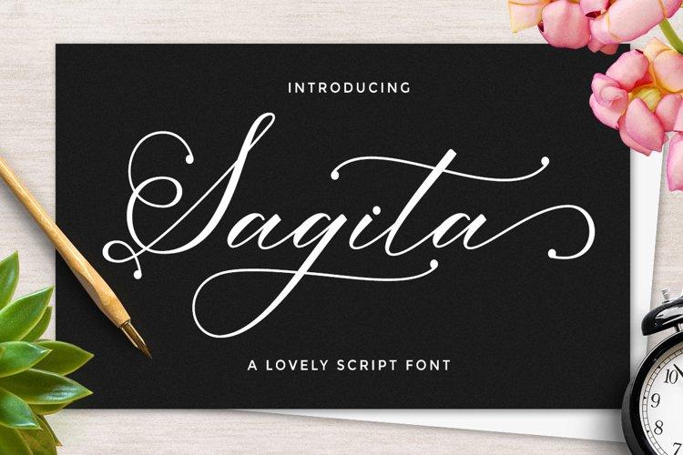 Sagita Script example image 1