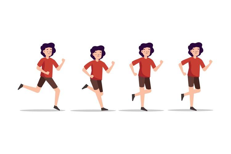 Running People Illustrations
