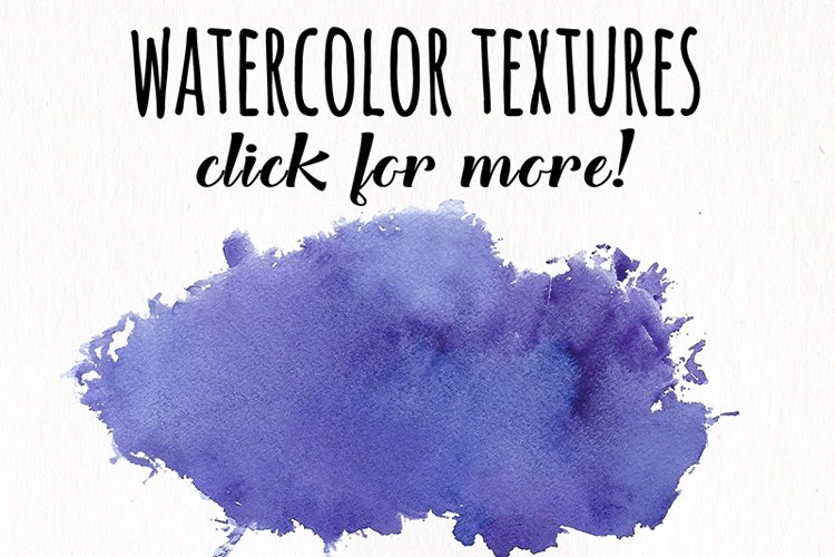 Watercolor Textures - card edition - Free Design of The Week Design9