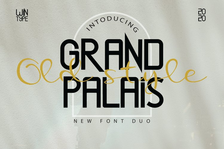 Grand Palais Old Style example image 1