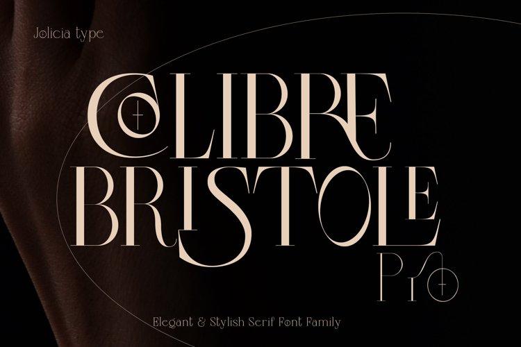 Colibre Bristole Pro |Aesthetic Ligature Font