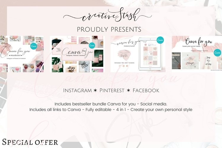 Sale! 4 in 1 Canva for you