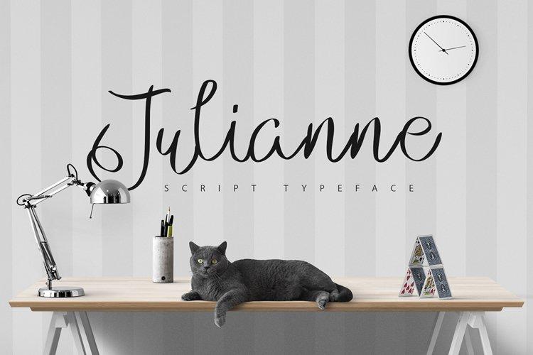 Julianne Script Typeface example image 1