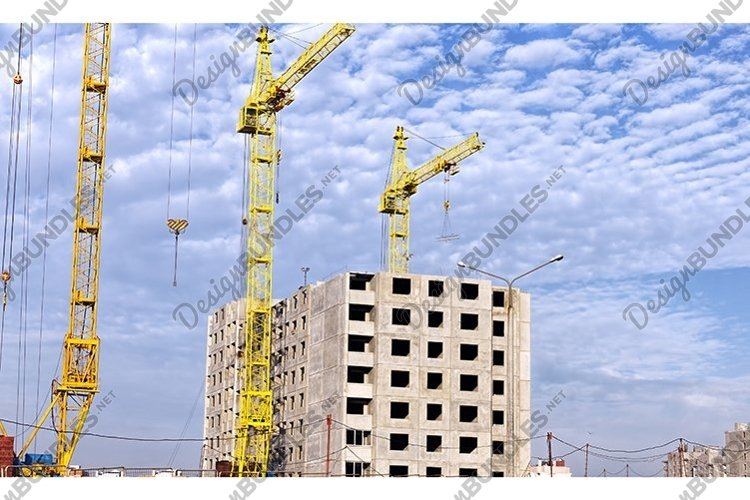 construction of a new multi-storey building example image 1