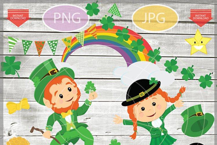 St. Patricks Day Clipart - Saint Patricks day Clip Art Pack
