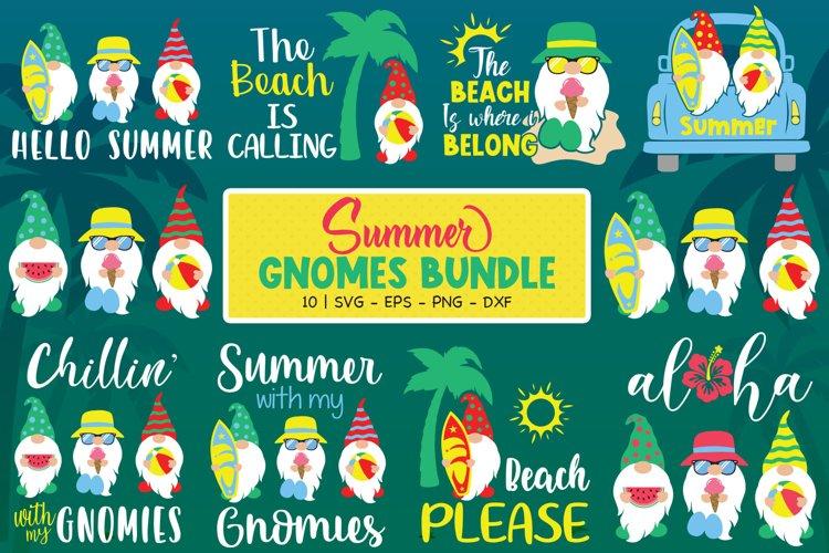 Summer Gnomes Bundle, Summer Svg, Gnomes Svg, Summer Gnome