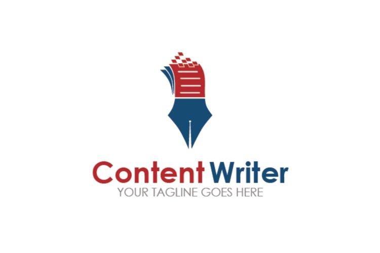 Content Writer Logo example image 1