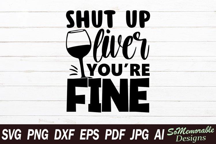 Wine SVG cut file, Wine svg design example image 1
