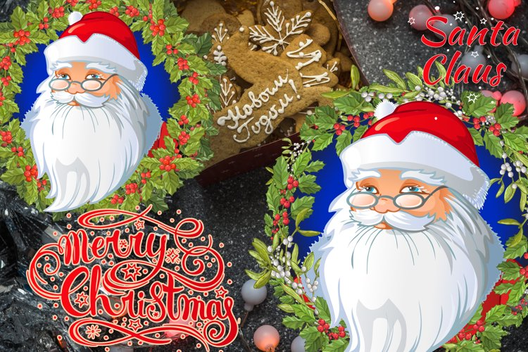 Santa Claus and Christmas whread example image 1