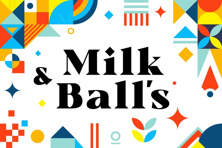 Milk and Balls example image 1