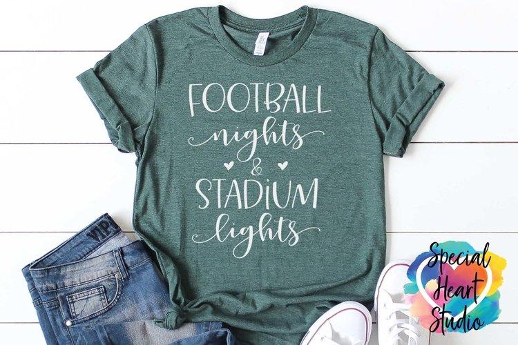 Football Nights & Stadium Lights - A football SVG Cut File