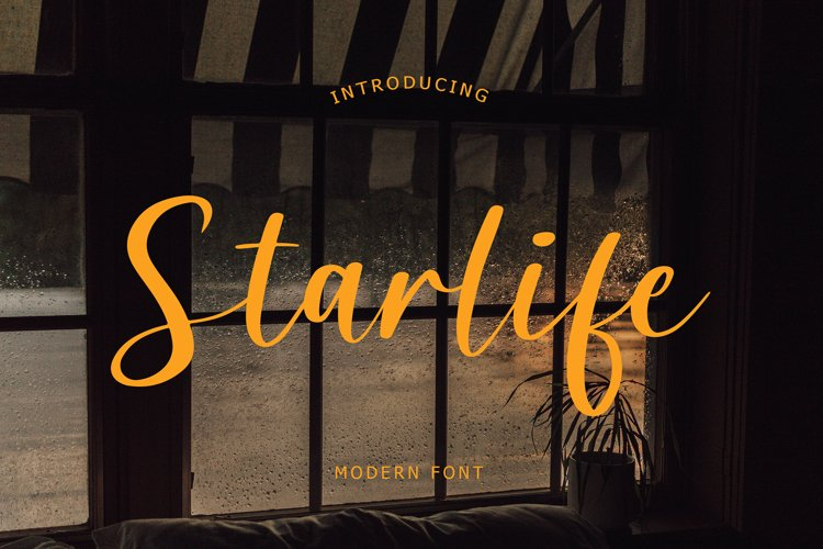 Starlife Modern Font example image 1