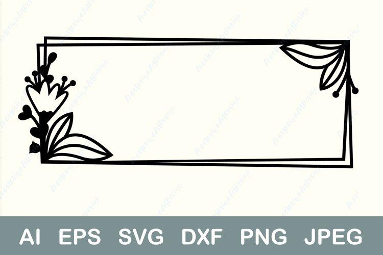 Download Floral Frame Svg Rectangle Border Svg Geometric Border Svg 1178338 Cut Files Design Bundles