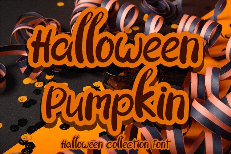 Halloween Pumpkin example image 1