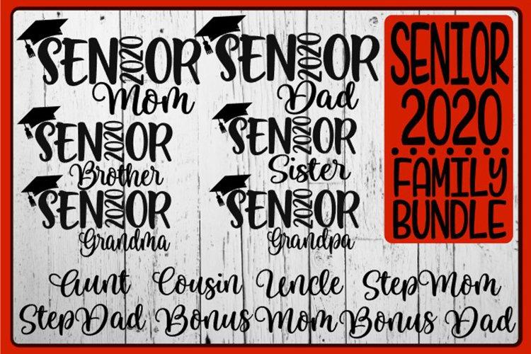 Senior 2020 FAMILY Graduation Bundle - SVG PNG DXF EPS