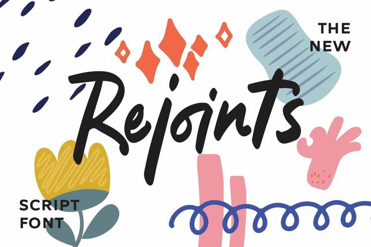 Web Font Rejoints - Script Fonts example image 1