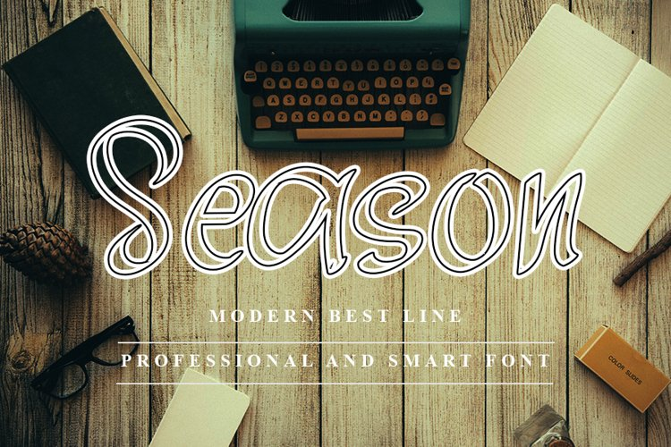 Seasson - Professional and Smart Font example image 1
