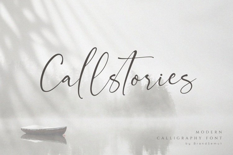 Callstories // Classy Signature Font example image 1