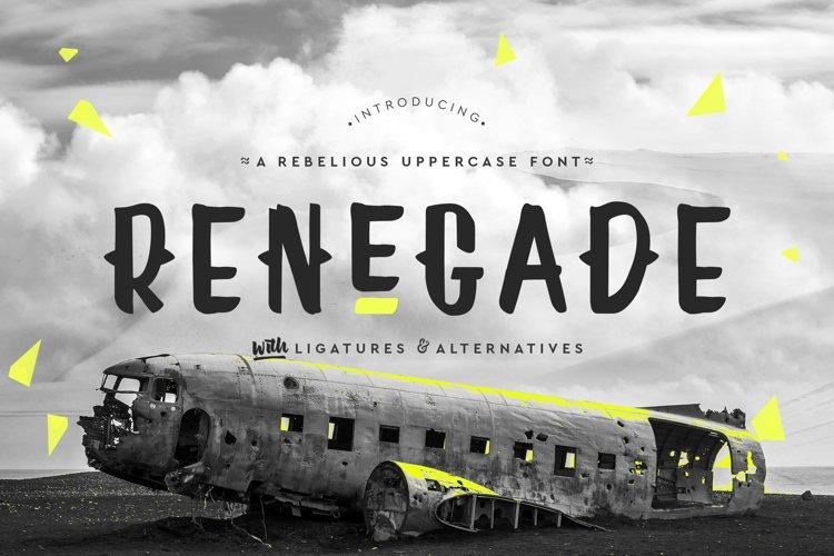 Renegade  example