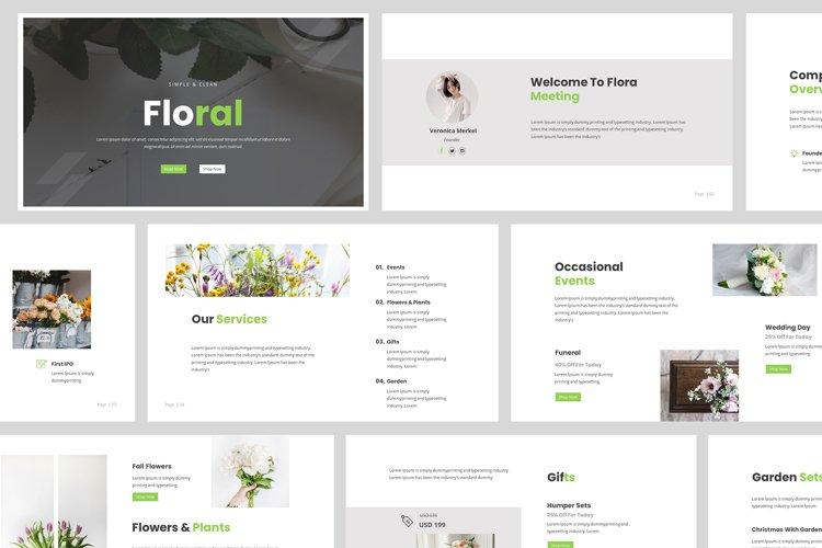 Florist Powerpoint Presentation example image 1