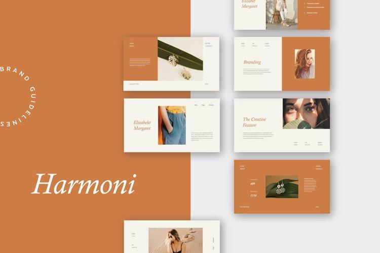 Harmoni - Powerpoint Brand Guidelines