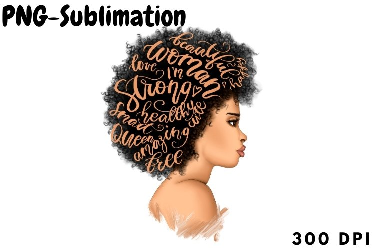 Woman Png | Sublimation Design example image 1