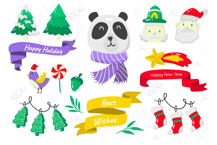 Christmas Elements Vol.11 example image 1