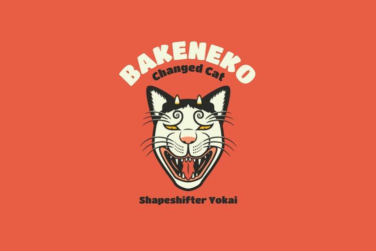 Bakeneko Logo Template