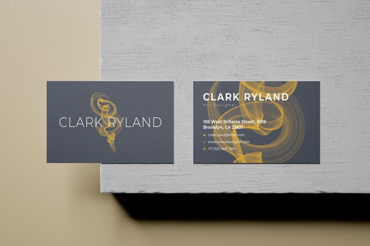 Brushes Business Card - Vol.28