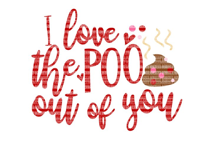 Valentine's Day Toilet Paper SVG Files for Cricut Design Space and Silhouette Studio Family Shirts Printable Clipart File Commercial Use Ok example image 1