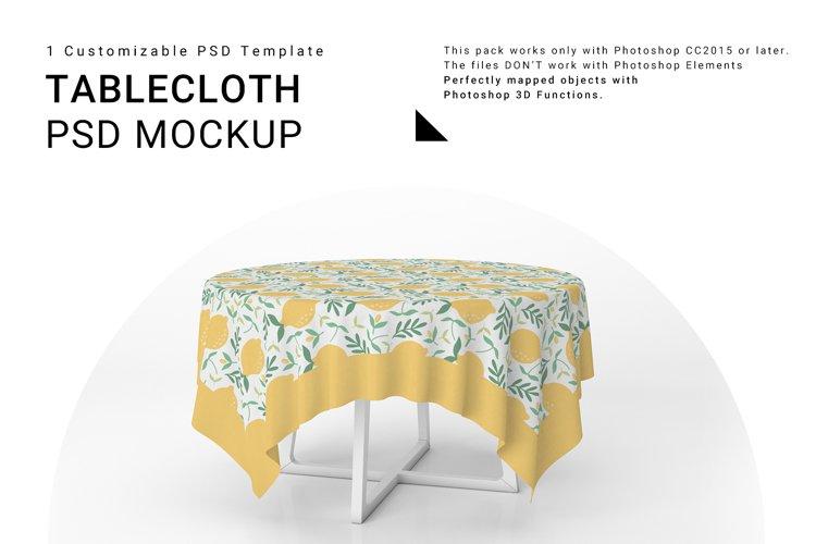 Tablecloth Mockup Set