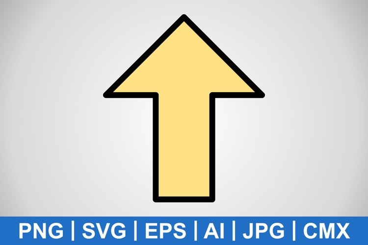 Vector Up Icon example image 1