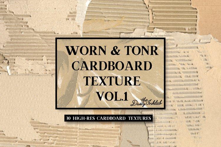 Worn & Torn Cardboard Texture Vol. 1